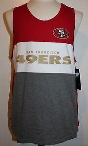 NFL San Francisco 49ers Men's GIII Extreme Tank Top - Red/White/Gray