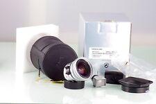 LEITZ LEICA 11897 ELMARIT-M 2.8 21mm ASPH. 21 SILVER E55 6 BIT NEAR MINT IN BOX