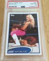 Natalya 2012 Topps Wwe Card #60 Psa Graded 10