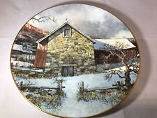 Pennsylvania Pastorale Royal Doulton 10.5 Collectors Plate By Eric Sloane 1977