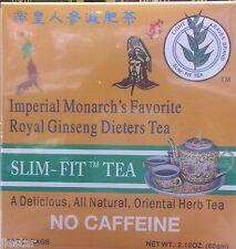 ROYAL GINSENG DIETERS TEA ( slim-fit tea 30 tea bags. net wt 2.12 oz