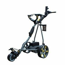 Pro Rider 18 Hole Electric Golf Trolley Lithium Battery Grey & Yellow RB1925