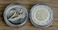 2 € Euro Münze 10 Jahre WWU / EMU / UEM IRLAND Polierte Platte Kapsel PROOF 2009