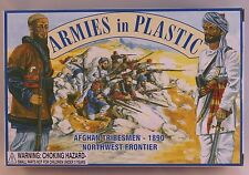 ARMIES IN PLASTIC  1/32  Afghan Tribesmen 1890 20 plastic figures ARM5462