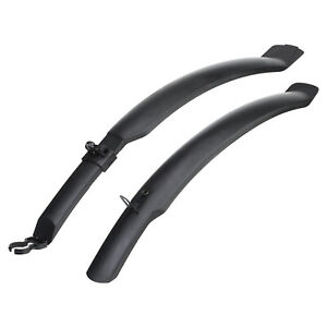 """PEDALPRO CYCLE 26"""" MUDGUARDS FRONT & REAR MOUNTAIN BIKE/BICYCLE MUD GUARDS SET"""