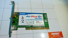 TARJETA DE RED WIFI DLINK AIRPLUS G+ DWL-G520+ 802.11g 2.4 GHz - REF 1031