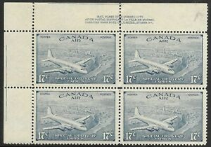 BC1289) Canada 1946 17c Air Special Delivery with grave accent SG S17.