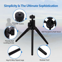 Portable Tripod Collapsible Lightweight Aluminium Alloy Camera Travel Mini Small