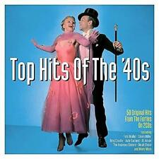 TOP HITS OF THE'40s - 50 ORIGINAL HITS - VARIOUS ARTISTS (NEW SEALED 2CD)