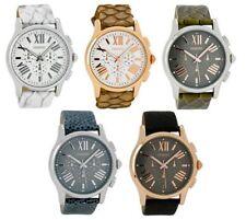 ooZoo C6865 C6866 C6867 C6868 C6869 43mm Leder band Rose Gold silber Damen Uhr