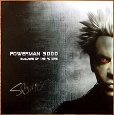 POWERMAN 5000 Builders Of The Future Ltd Ed RARE Spider One Signed Litho Poster!
