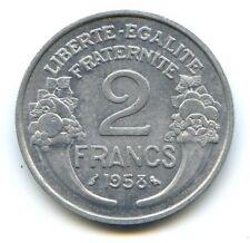 IV° République (1947-1959) 2 Francs Morlon alu 1958