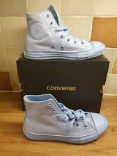 converse  sparkly blue kids childrens  high tops size 2 new