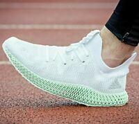 Adidas Alphaedge 4D Ash Green Size 12.5 Mens Running Shoes CG5526