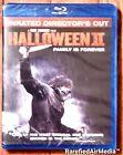Halloween II (Blu-ray, 2009) Rob Zombie Unrated Director's Cut *OOP* BN/ FS