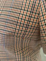 Paul & Joe Hfilarmoni Dress, Orange Check, Size 40, New With Tags