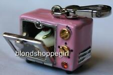 NWT Juicy Couture PINK CUPCAKE OVEN CHARM SILVER Rare for Necklace Bracelet Key