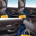 2X Backseat Storage Hooks Car Hangers Seat Back Organizers Headrest Bag Rack
