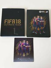 FIFA 18 Ultimate Team STEELBOX pour ps4/Xbox One/PC (sans jeu) comme neuf