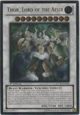 YuGiOh Thor, Lord of the Aesir - STOR-EN038 - Ultimate Rare - Unlimited Edition