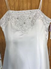 Plus Wedding Dress white size 24W Destination or Country Wedding Aline Corset