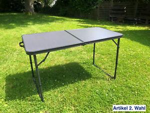 Gartentisch Esstisch 120x60cm Campingtisch Tisch Buffettisch Klappbar Klapptisch