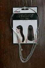 Scunci Couture hair chain, Metallic, BNIP