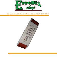 DRIVER LED ALIMENTATORE TRASFORMATORE 15W PER PANNELLO LED PANEL 15W V-TAC 8037