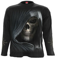 Spiral Direct DARKNESS - Long sleeve T-Shirt Death/Reaper/Skulls/Rock/Metal