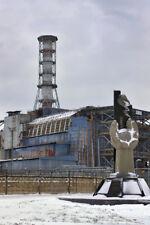 Chernobyl Nuclear Reactor 4 Photo Art Print Poster 12x18