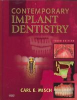 Contemporary Implant Dentistry, Hardcover by Misch, Carl E., ISBN 0323043739,...