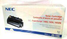 NEC TONER CARTRIDGE 20-150 FOR NEC SUPERSCRIPT 1400, 1450, & 1450N PRINTERS NWB