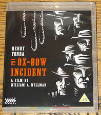 THE OX-BOW INCIDENT 1943 2016 4K RESTORATION RB BLU-RAY & R2 DVD IN HAND