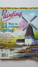Painting Magazine Decorative &Tole Painting April 2003