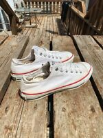 1970's Converse All Star Chuck Taylor Low Top White USA