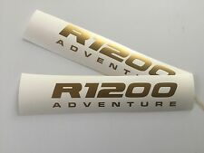 2 pt GOLD ADVENTURE R1200 BEAK STICKERS TO FIT BMW R1200GS DECALS