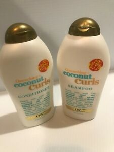 OGX Quenching Coconut Curls shampoo and Conditioner - 19.5 FL OZ each