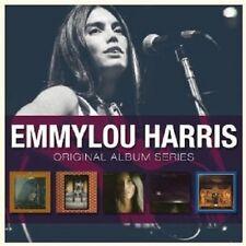 EMMYLOU HARRIS - ORIGINAL ALBUM SERIES 5 CD POP NEU