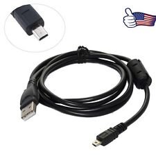 USB PC Charger Data Sync Cable Cord For Panasonic Lumix DMC-SZ3 DMC-ZS40 CAMERA