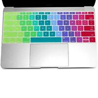 Keyboard Cover Silicone Rubber Skin for Old MacBook Pro 13 15 17 Air 13