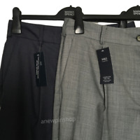M&S Ladies Trousers Grey OR Slate Ankle Grazer Tapered Leg BNWT Marks