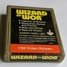 Wizard of Wor War (Atari 2600) Clean, Tested + Great! Combine Shipping & Save!