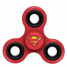 Superman (RED) 3-Way Justice League Diztracto Fidget Spinner Spinner