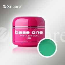 SILCARE BASE ONE GEL UV COLOR NR. 22  MINT GREEN