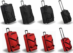 Members Expandable Rolling Holdall Heavy Duty Robust Strong Travel Wheelbag