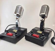 CHROME DELTA M2 AMPLIFIED POWER BASE MICROPHONE 6 pin RANGER RADIO CB HAM MIC