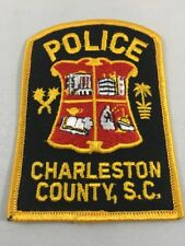 Vintage Charleston County South Carolina SC Police Embroidered Patch NOS
