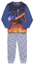 Boys Pyjamas Disney Star Wars Darth Vader Pjs NEW