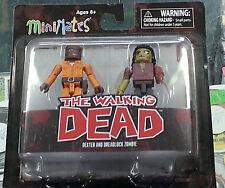 The Walking Dead Minimates - Dexter and Dreadlock Zombie Series 3 2013