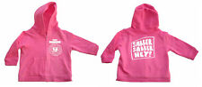 Baby Ramone Slaver Slaver Hey Pink Zipped Hoodie Kapu-zip Baby